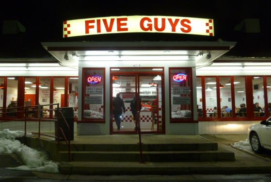 sales lessons from five guys