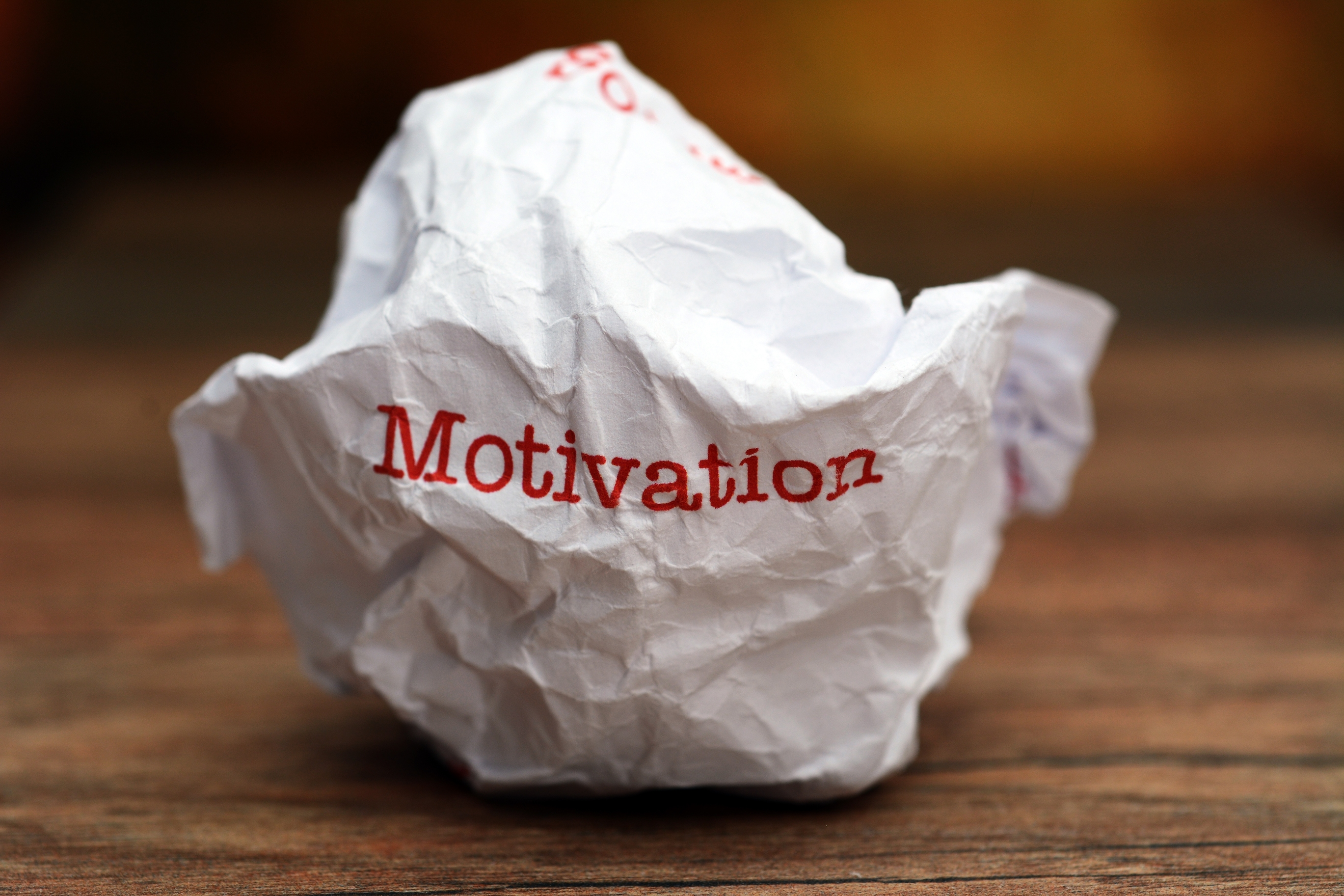 Why You Can't Motivate Anyone In Sales
